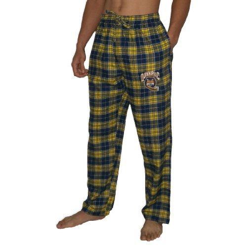 ncaa-quinnipiac-bobcats-mens-fall-winter-plaid-pajama-pants-medium-multicolor-by-na