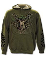 Spiral Direct - Sweat-shirt à capuche - Homme Vert Vert moyen