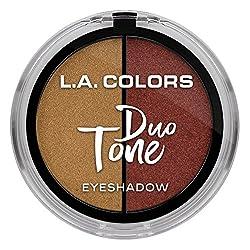 L.A. Colors Duo Tone Eyeshadow, Renaissance, 4.5g