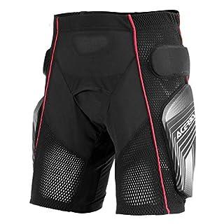 0017174.319.066 Acerbis Soft 2.0 Shorts schwarz/grau Größe L
