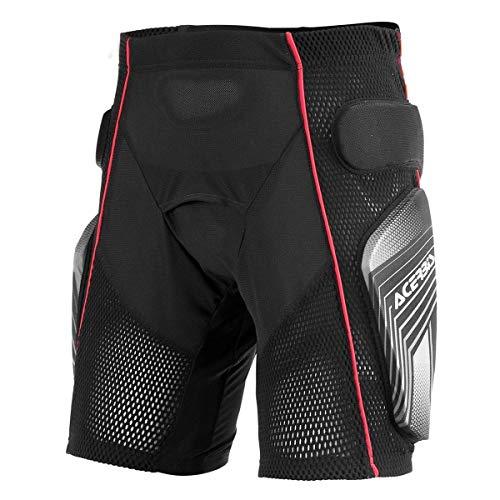0017174.319.066 Pantaloncini Acerbis Soft 2.0 nero/grigio Taglia L
