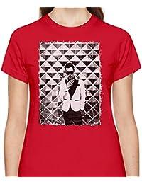cee89477 Panic At The Disco Logo Tshirt for Women Short Sleeve Womens T-Shirt with  Custom