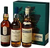 The Classic Malts Collection Pack Strong Single Malt Whisky Pack (3 x 0.2 l) mit Lagavulin 16, Talisker 10, Cragganmore 12