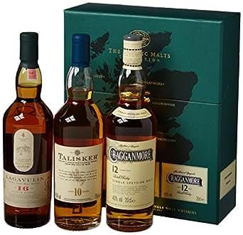Strong Malt Coll. Laga 16 Jahre/Cragg 12 Jahre/Tal 10 Jahre Single-Malt Whisky (3 x 0.2 l)