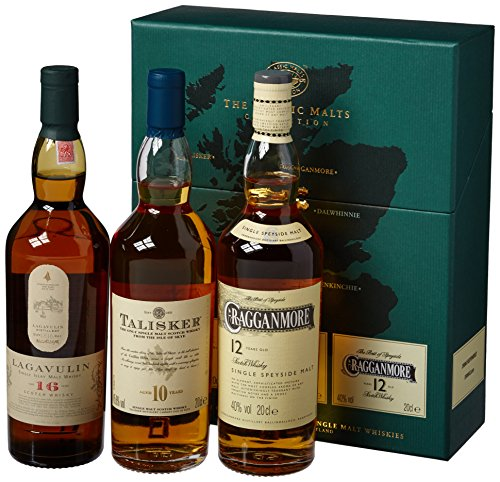 Classic Malts Collection Strong Single Malt Whisky Pack (3 x 0.2 l)
