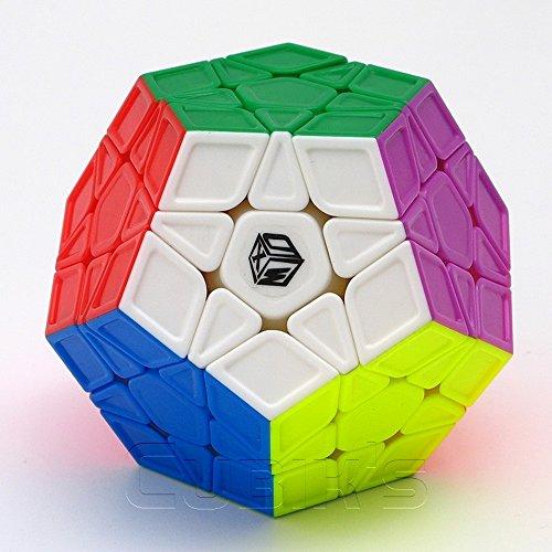X-MAN GALAXY MEGAMINX - QiYi 3x12 Professional & Competition SpeedCube Brain Game Puzzle - STICKERLESS SCULPTED
