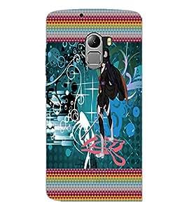 PrintDhaba Fantasy Girl D-6023 Back Case Cover for LENOVO K4 NOTE A7010a48 (Multi-Coloured)