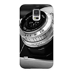 NEO WORLD Premium BW Camera Up Back Case Cover for Samsung Galaxy S5