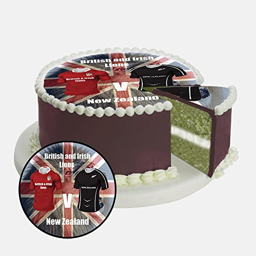 british-irish-lions-rugby-8-inch-20cm-round-pre-cut-edible-icing-cake-topper