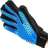 KIRANDO Fellpflege-Handschuh zur sanften Enthaarung & Massage - Hochwertige Fellbürste für Hunde & Katzen - Fellhandschuh - Fellstriegel