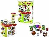 Banco Chef supermercado con grabadora altavoz juguete Giochi Educativi Aprendizaje Juguete Juegos Idea regalo Navidad # AG17