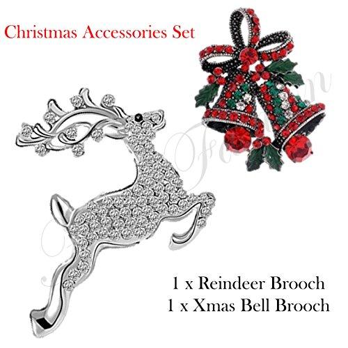Set di accessori di Natale, Renna Spilla
