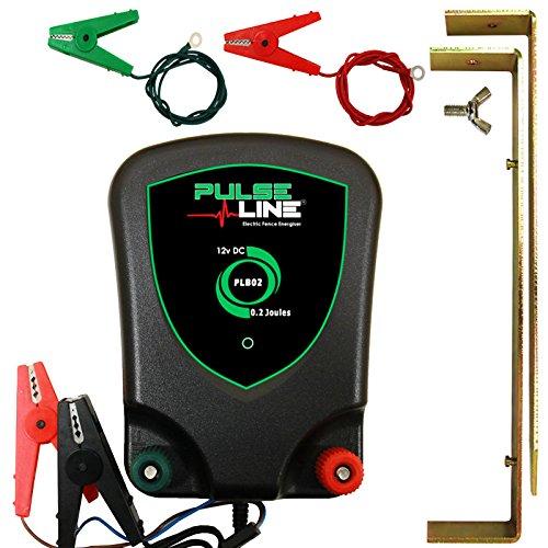 PulseLine Électrificateur de Clôture électrique 12V Plb020.2j