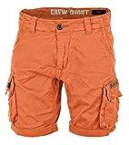 Alpha Ind. Crew Shorts flame orange - 31