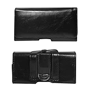 DMG Magnetic Lock Belt Clip Holster Pouch Carry Case for Spice Fire One Mi-FX 1 (M)