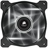Corsair AF120 LED Quiet Edition High Airflow LED PC-Gehäuselüfter (120mm, Single Pack) weiß