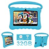 Dragon Touch Tablet, per Bambini 7 Pollici 32 GB Rom Android 6.0 Wi-Fi e Bluetooth IPS HD 1024*600 Dual Camera Tablet PC (blu)