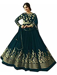Women's Latest, Party Wear, Traditional, (Semi Stitched_Free Size) Salwar Suit For Marriage And Wedding Ceremony...
