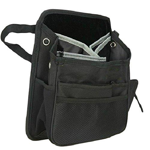 Hosaire Aufbewahrungsbeutel Schwarz Auto Einbezogen Nylon Hängetasche Rucksack Auto Sitz Reisetasche Lagerung Tasche Trümmer Aufbewahrungskiste Lagerung Reisetaschen