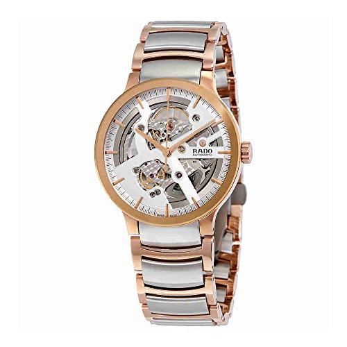 Rado Centrix Herren-Armbanduhr 38mm Zwei Ton Automatik R30181103