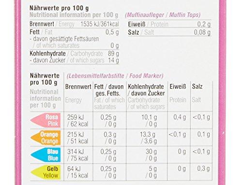 Dekoback Muffin-Aufleger Malset, 16 teilig, Disney Princess, 1er Pack (1 x 38 g)