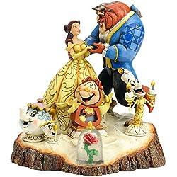 Adorno pastel Bella y Bestia y personajes Disney 19 cm