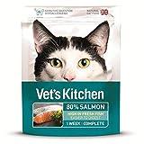 Vets Kitchen 4X Tierarzt Küche Extrem Frische Katzenfutter Lachs 385G