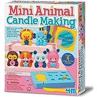4M - Mini Animal Candle Making: Arte con Pintura (00-04681)