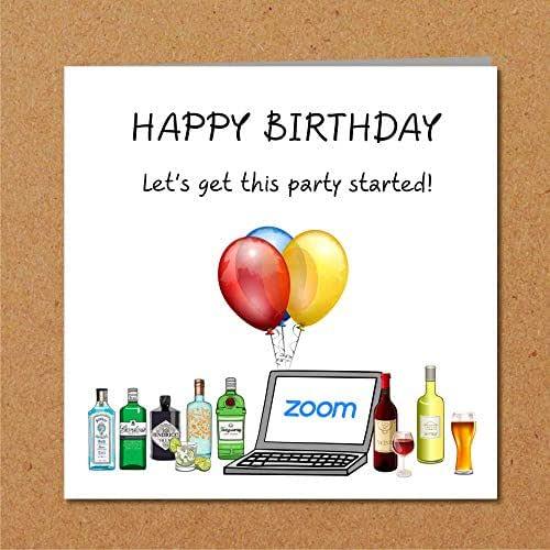 Lockdown Zoom Birthday Party