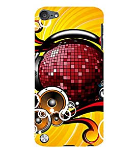 Ebby Printed back cover for Apple iPod Touch 5(Premium Designer case)