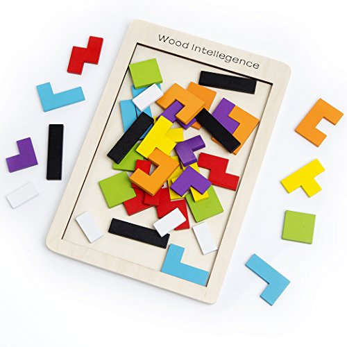 Tetris Giochi Legno,Buself Giochi Legno Bambini Giochi usato  Spedito ovunque in Italia