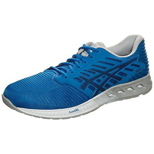 Asics Herren Fuzex Sneakers, Blau, UK Blau (Directoire Blue/peacoat/mid Grey)