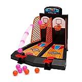 Gadget Zone Arcade Tisch Mini Basketball Shooting Game Tisch Spiel 2 Players Shootout Reifen Basketball mit Scoring Gerät für Kinder Kinder Weihnachten