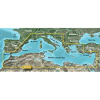 Garmin BlueChart g2 HXEU718L - Software de navegación (Mar Mediterráneo, VGA 1024 x 768 px USB Ethernet, 1024 MB, Intel, PowerPC G4)