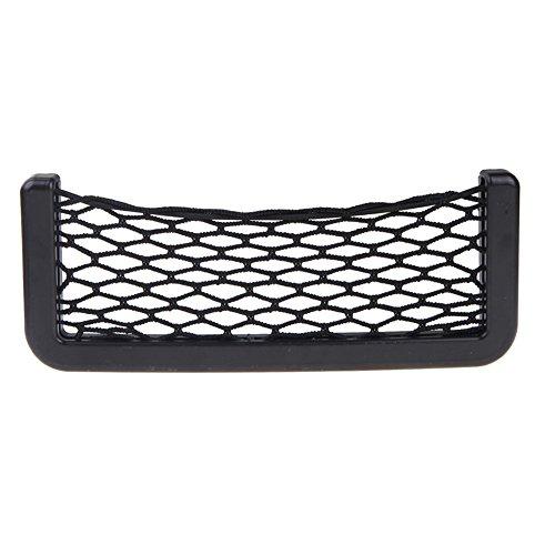 Vi.yo Ablagenetz Universal-Ablagefach Aufbewahrungsnetz Auto-Sitztasche Organizer Halter Ideal für Handy, Schlüssel, Bargeld Set von 1 Size 15 * 8.5cm