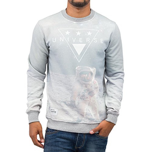 Just Rhyse Homme Hauts / Pullover Universe Gris