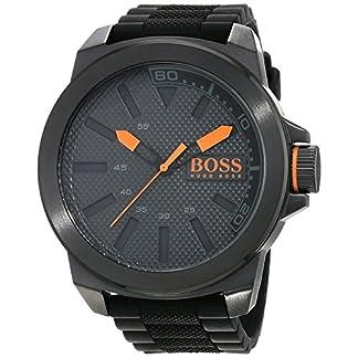 Hugo Boss Orange 1513004 – Reloj analógico de pulsera para hombre, correa de silicona