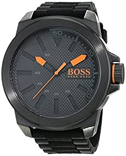 Hugo Boss Orange Homme Analogique Quartz Montres bracelet avec bracelet en Silicone - 1513004 (B00I7TZV8W) | Amazon price tracker / tracking, Amazon price history charts, Amazon price watches, Amazon price drop alerts