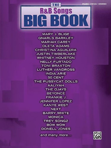Image of The R&B Songs Big Book: Piano/Vocal/Chords