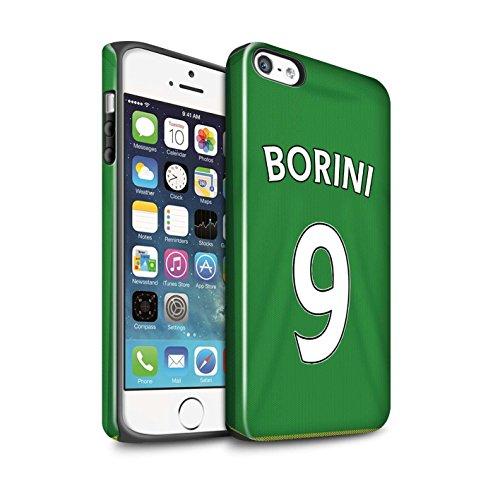 Offiziell Sunderland AFC Hülle / Glanz Harten Stoßfest Case für Apple iPhone 5/5S / Pack 24pcs Muster / SAFC Trikot Away 15/16 Kollektion Borini