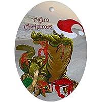 CafePress–Cajun ovale ornamento decorazione di Natale (ovale)–Ovale vacanza decorazione natalizia