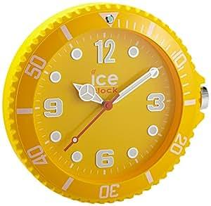 Ice-Clock Wall Clock, Yellow