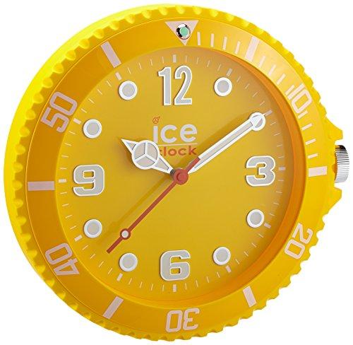 Ice-Watch - IWF.YW - Horloge Murale - Quartz Analogique - Cadran Jaune - Diamètre : 28 cm