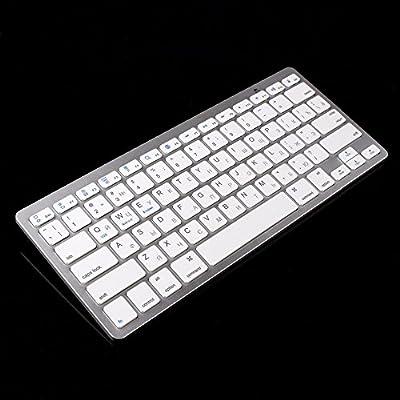 Mini Drahtlose Bluetooth Russische Tastatur für Win8 XP IOS Android TV BOX PC