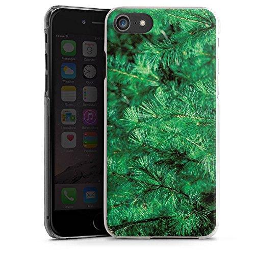 Apple iPhone X Silikon Hülle Case Schutzhülle Pinie Äste Natur Hard Case transparent
