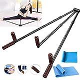 LARRY SHELL Tragbares Beinstrecker-Set, Hochleistungs-Gymnastikgerät für Beinspalten,...