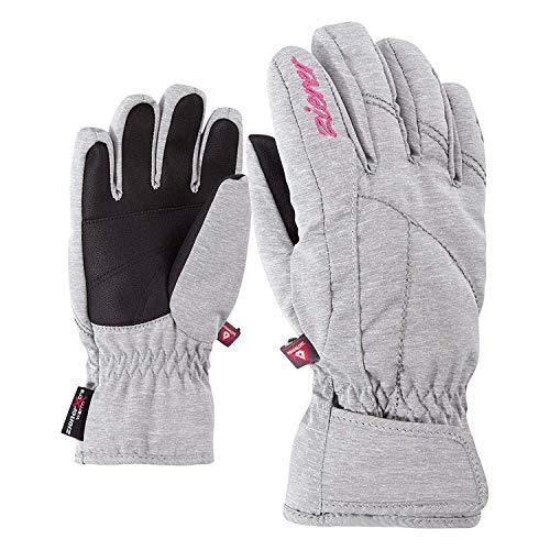 Ziener Kinder LATI AS(R) PR Girls Glove junior Ski-Handschuhe, Light Melange, 4 Preisvergleich
