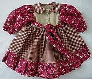 Moda de muñecas Sturm 1321-3 Vestido de Estilo rústico para muñecas