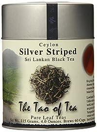 The Tao of Tea, Silver Striped Black Tea, Loose Leaf, 4 Ounce Tin