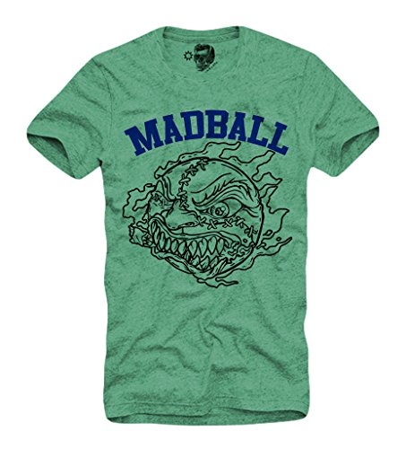 E1SYNDICATE MADBALL T-SHIRT S/M/L/XL HARDCORE EMMURE BORN FROM PAIN GREEN